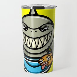 Spike the Shark Travel Mug