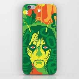 THE ROOTS OF HORROR ROCK :: ALICE COOPER iPhone Skin