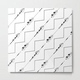Arrows Metal Print