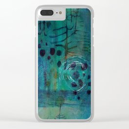Glyphs Clear iPhone Case