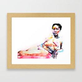 Miss D Framed Art Print