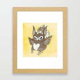 Squawker Framed Art Print