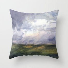 The View from Mt. Greylock Throw Pillow