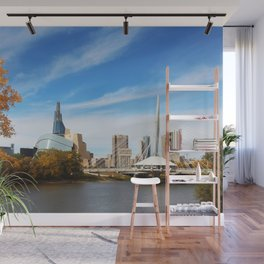 Downtown Winnipeg 2 Picture Panorama Wall Mural