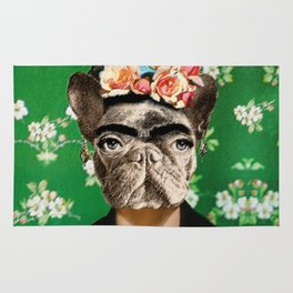 Frida Katy FrenchBulldog Rug