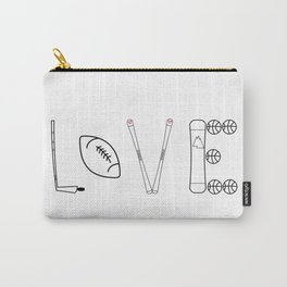 Love Sports Carry-All Pouch