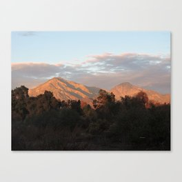 Near Sunset Canvas Print