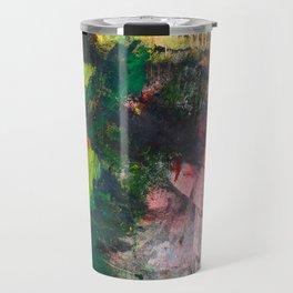 Fantasy painting. Dragon's breath. Travel Mug