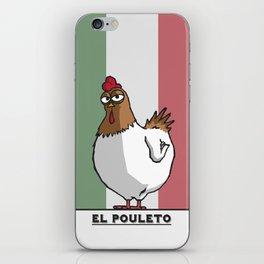 El Pouleto iPhone Skin
