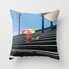 A Mass of Seats Throw Pillow