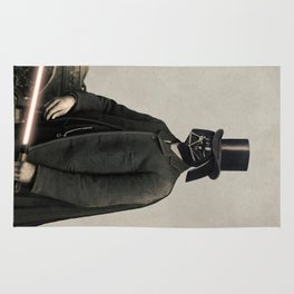 Lord Vadersworth  - square format Rug