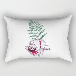 War  Cat Rectangular Pillow