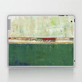 Limerick Irish Ireland Abstract Green Modern Art Landscape Laptop & iPad Skin