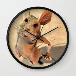 Cheese please! Wall Clock