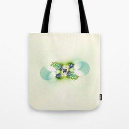 Decorated Infinity Citrus Tote Bag