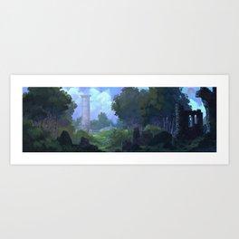 Outpost Art Print