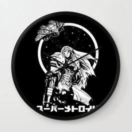Interstellar Bounty Hunter Wall Clock