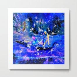 Magical Mermaid Metal Print