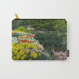 Technicolor Tulips Carry-All Pouch