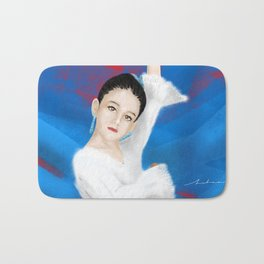 Little spanish girl Bath Mat