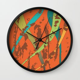 algae Wall Clock
