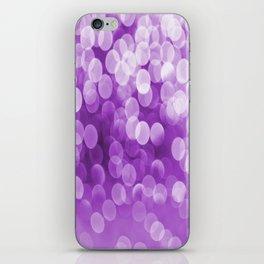 Bokeh Light Purple Tone #decor #society6 #buyart iPhone Skin