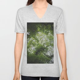 Up in the Trees Above Unisex V-Neck