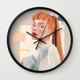 Crepe Wall Clock