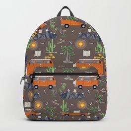 The Van Life (Pattern Vers.) Backpack