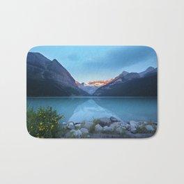 Mountains lake Bath Mat