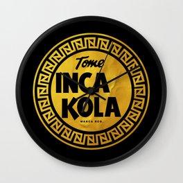 Inca Kola Gold Retro Wall Clock