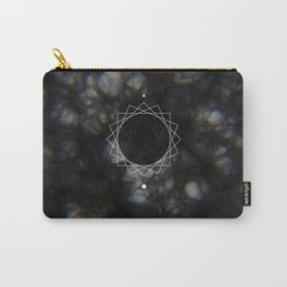 Sun Delay Geometry Carry-All Pouch