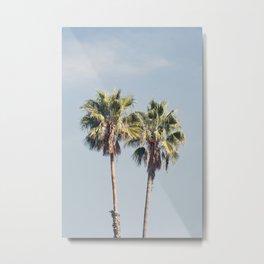 2 Palms Metal Print