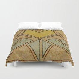 Arts & Crafts style tulip Duvet Cover