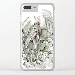 Best Friends Clear iPhone Case