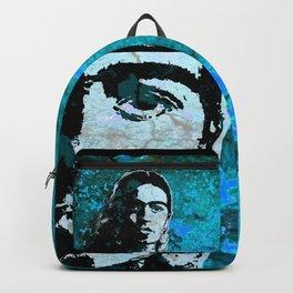 FRIDA - turquoise grunge Backpack