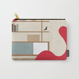 Inside Mid-century modern 121 Carry-All Pouch