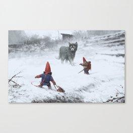 furry demon Canvas Print