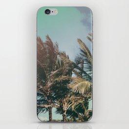 Vintage Palm Hawaii Summer Daze iPhone Skin