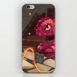 The Dragon Library iPhone Skin