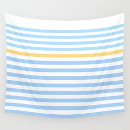 Simple skyblue Wall Tapestry