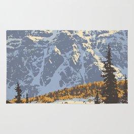 Banff National Park Rug