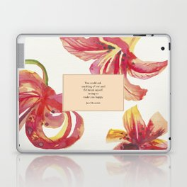 You could ask anything of me...Jace Herondale. The Mortal Instruments. Laptop & iPad Skin