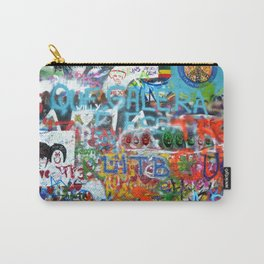 grafitti wall Carry-All Pouch