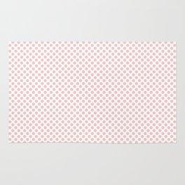 Rose Quartz Polka Dots Rug