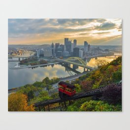 Pittsburgh Sunrise Canvas Print