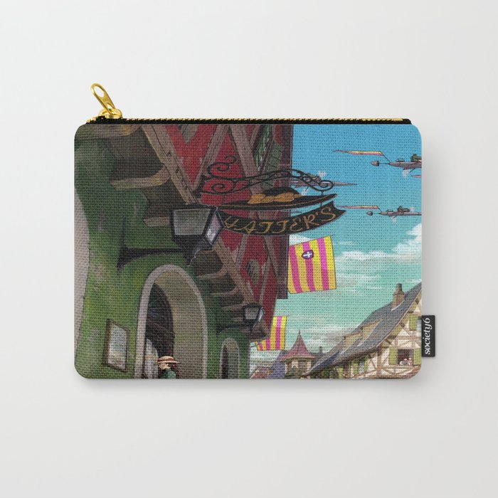Howls Moving Castle Carry-All Pouch
