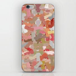 Coral Beads Paint Splatter 5050 iPhone Skin