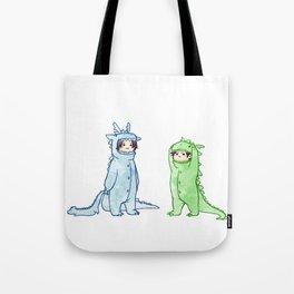 dragon brothers Tote Bag