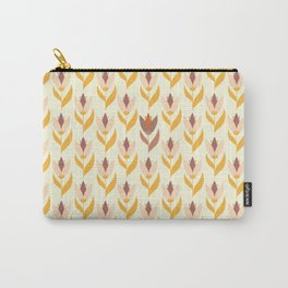Field of tulips light background Carry-All Pouch